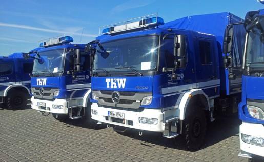 Mannschaftslastwagen IV (MLW4) – THW Berlin Treptow-Köpenick