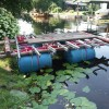 Stege und Floßbau THW